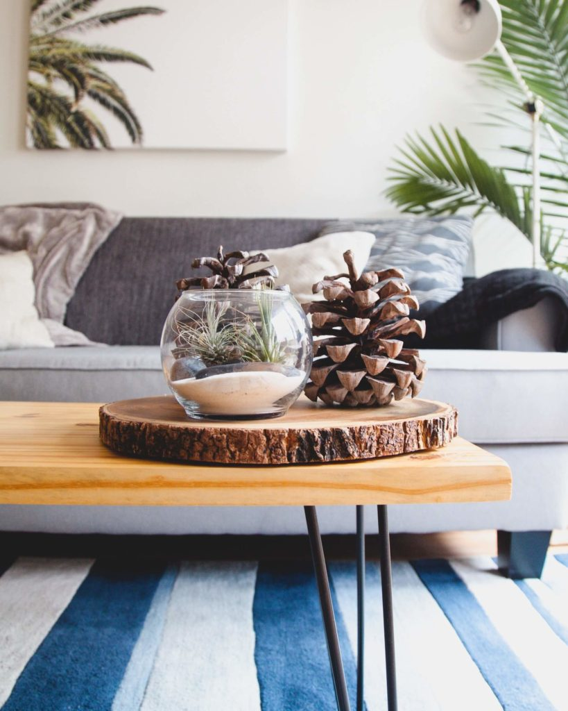 Starting decluttering in the most used room is one of the best decluttering hacks for minimalist living.