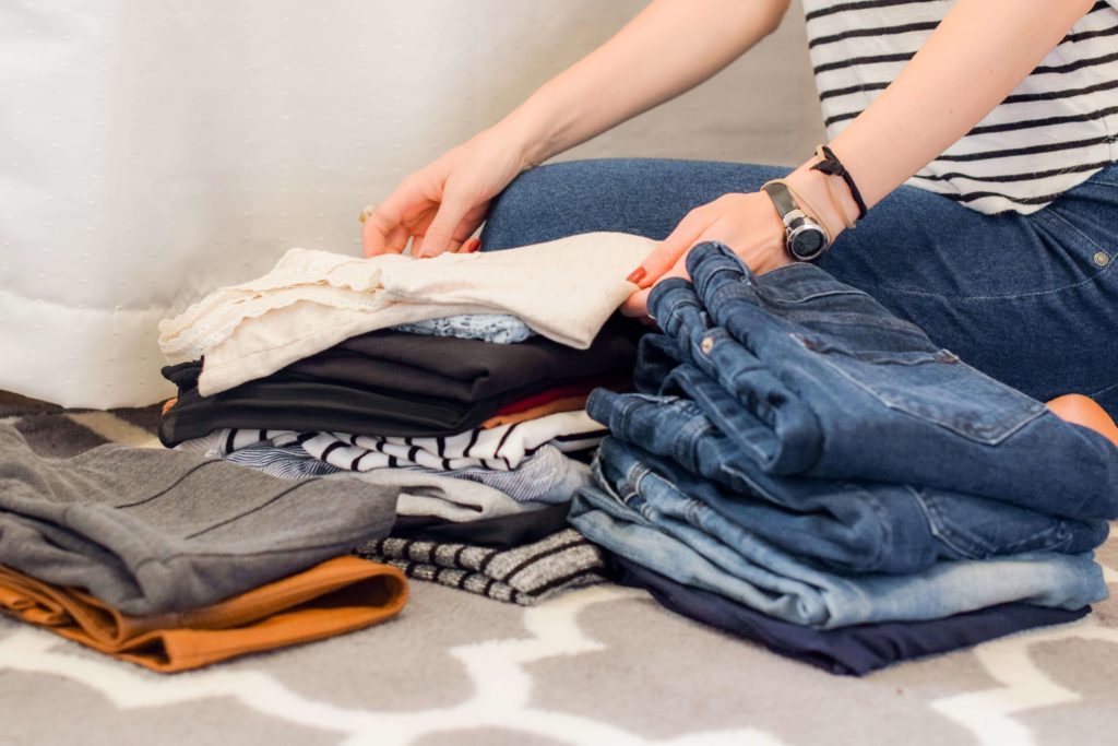 Decluttering clothes is one of the greatest minimalist hacks to live a simple life.