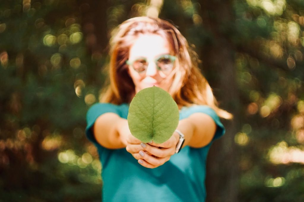 Knowing how you are helping the environment is a good way to reduce eco-anxiety.