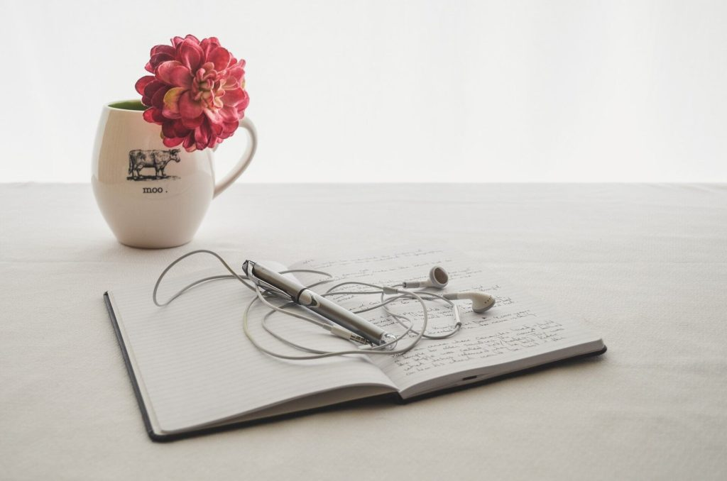 Journaling is one thing you can do when bored at home.
