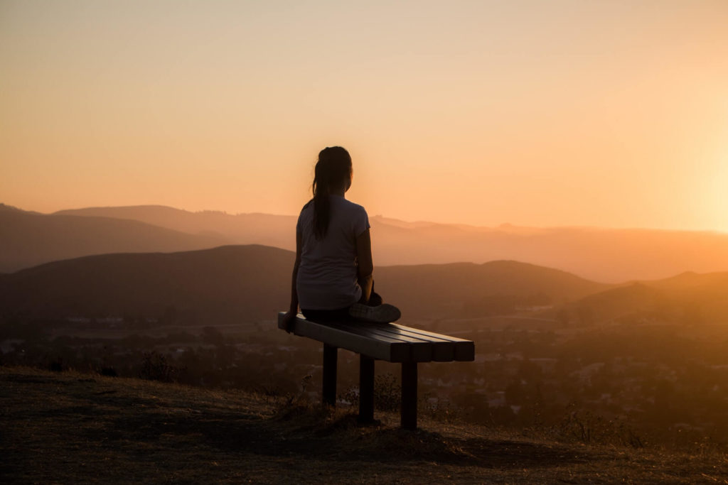 Being in the present and practicing mindfulness is a great way to simplify life and live intentionally.