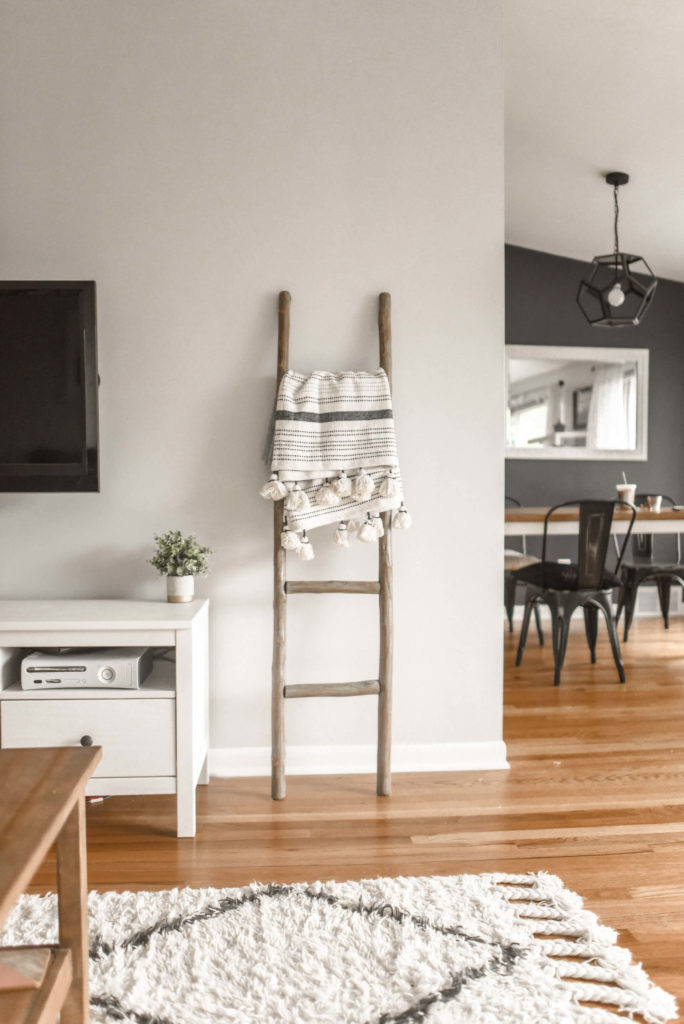There are many things to get rid of in the living room for minimalist living.