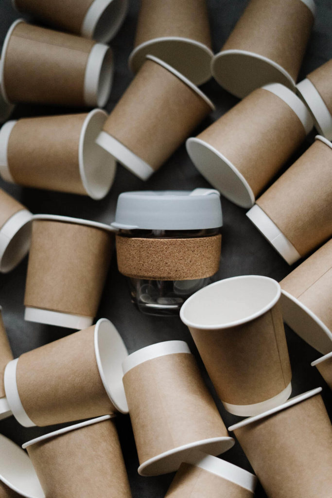 A reusable coffee cup is one of the easiest zero waste swaps for beginners.