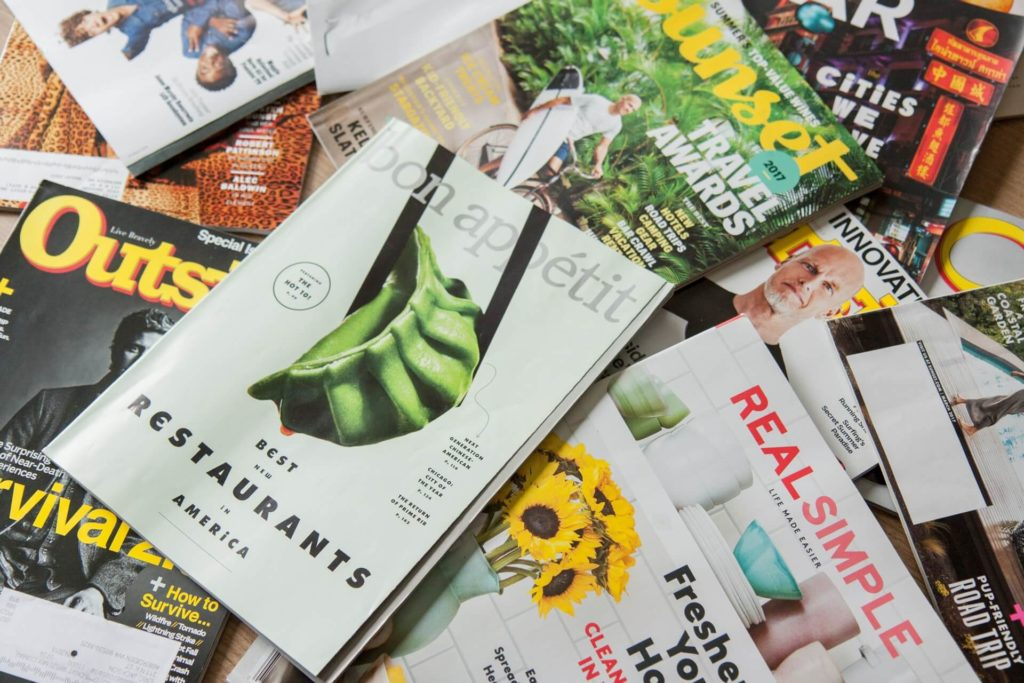Unsubscribing from magazine subscriptions is a great way to save trees.