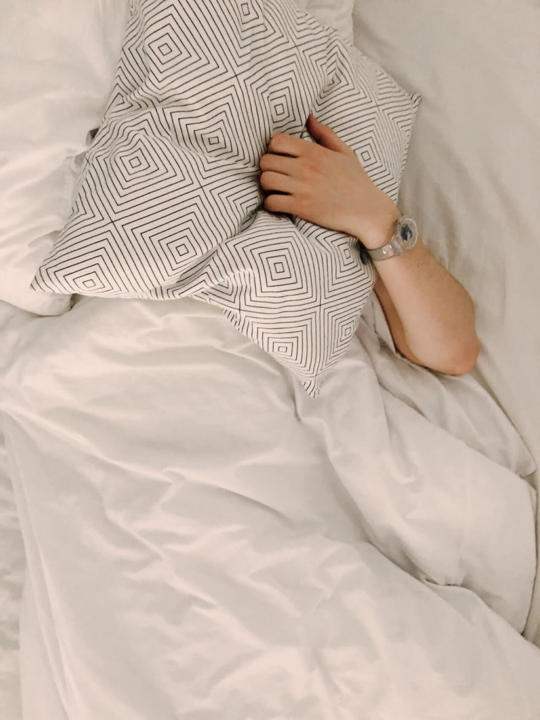 If you want to relax and slow down after a long day, consider going to bed early.